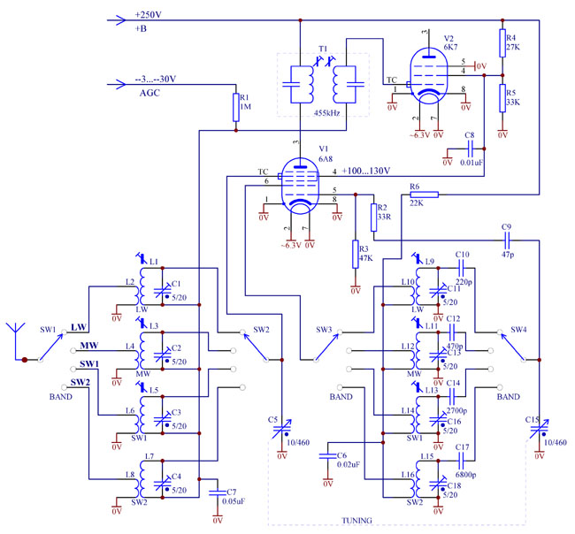 Converter frequency stability - Valve Radio