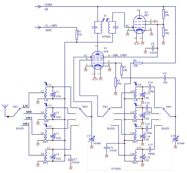 Superb Converter Frequency Stability Valve Radio Wiring Cloud Favobieswglorg